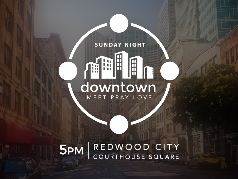 Sunday Night Downtown